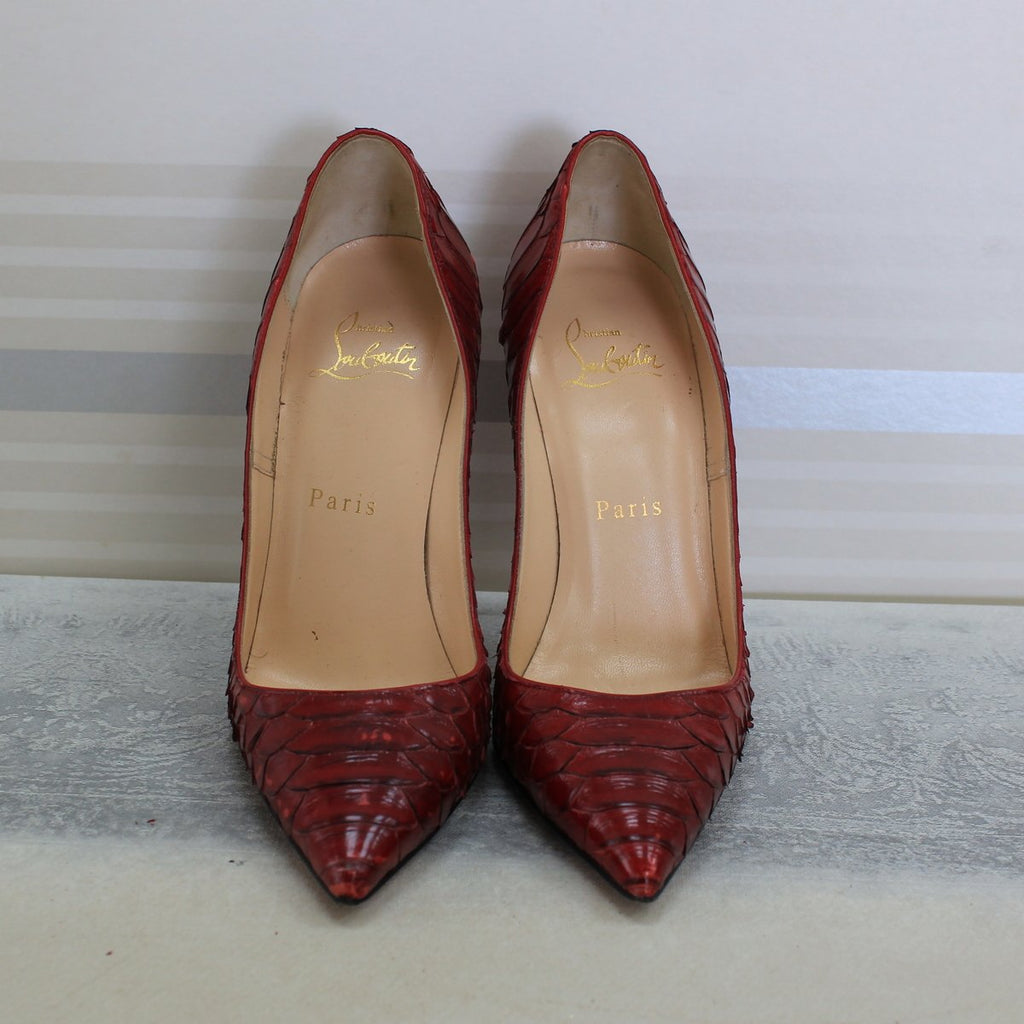 Oeilet Red So Kate Python