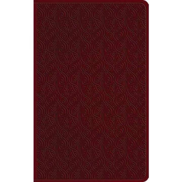 ESV Large Print Value Thinline Bible TruTone®, Ruby, Vine Design