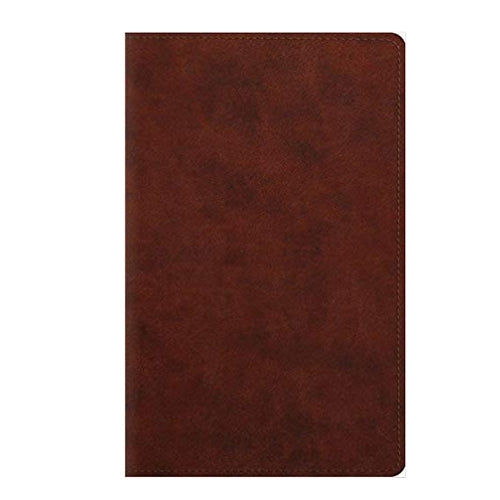 ESV Large Print Personal Size Bible TruTone Chestnut