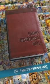 ESV Family Devotional Bible (TruTone, Brown)