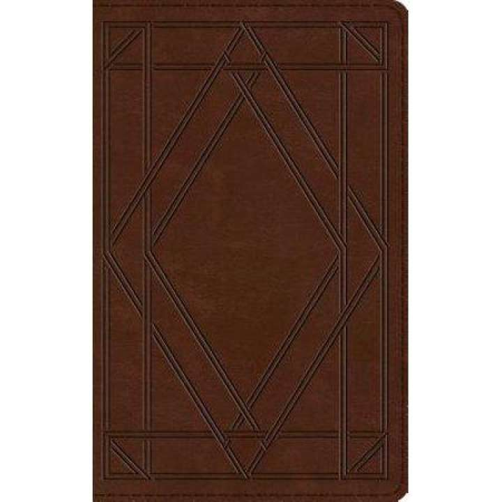 ESV THINLINE BIBLE (Trutone, Chestnut, Wood Panel)