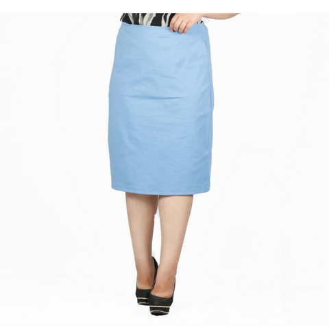 Plus Size Bodycon Pencil Skirt