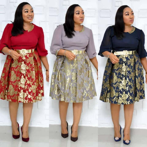 Plus Size women Midi