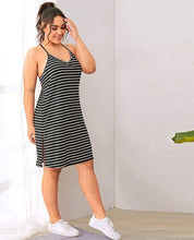 Load image into Gallery viewer, Plus Size Camisole Sleepwear Dress