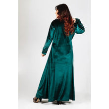 Load image into Gallery viewer, Plus Size Prom Evening Velvet Dress