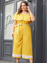 Load image into Gallery viewer, plus size jumpsuit