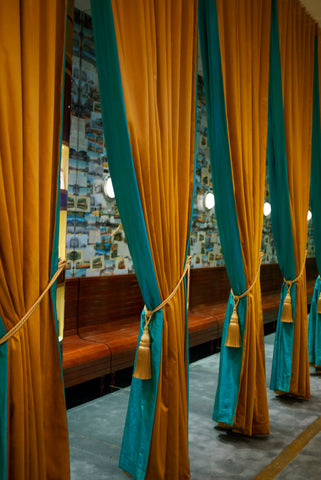 Ted Baker curtains supplied by The Curtain Exchange