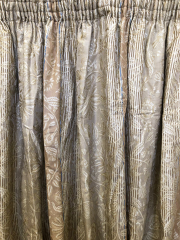 Golden Striped Damask