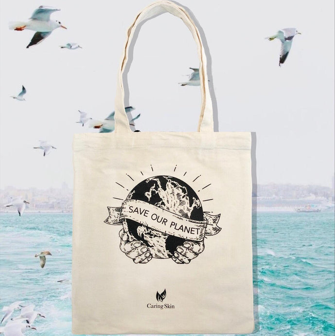 Save the Planet Tote Bag (Free for Orders above $100)