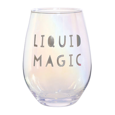 Jumbo Stemless Wine Glass - Liquid Magic