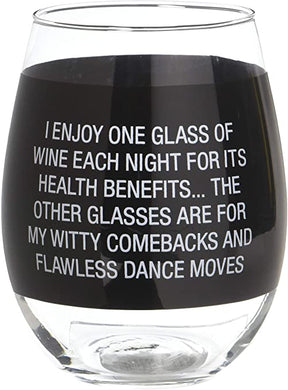 Dance Moves Wine Glass