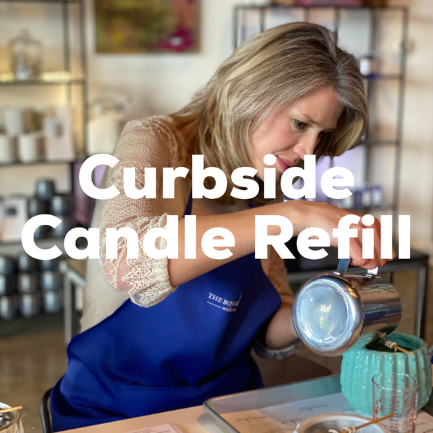 Curbside Candle Refill - The Bougie Bar Lafayette