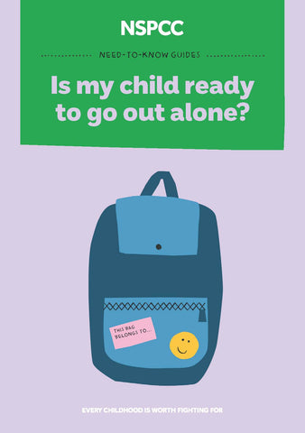 Out Alone: Is my child ready to go out alone?