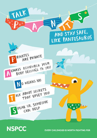 Talk PANTS - POSTER PACK (10 posters per pack) - ENGLISH