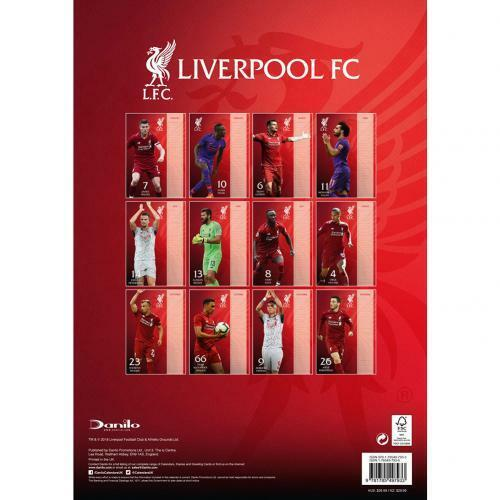 Liverpool FC 2019 Official Calendar (Official Licensed Product).