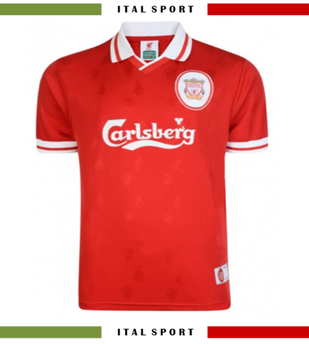Vintage 1990s Liverpool Home Football Jersey Official Reproduction