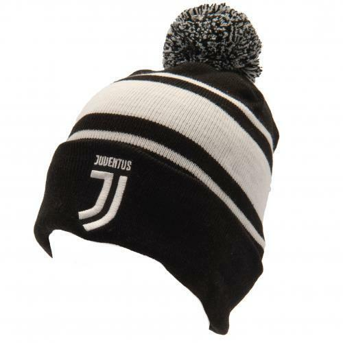 Official F.C. Juventus Ski Hat Beanie (NEW).
