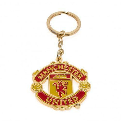 Manchester United Metal Crest Keyring (Official Licensed Product).