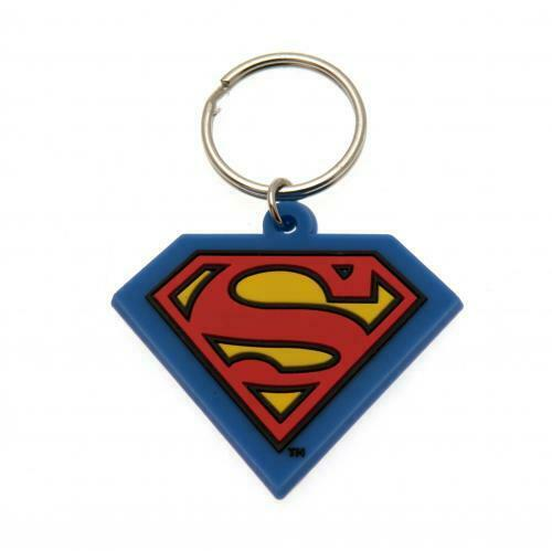 Superman Key Ring (Official Licensed Product).