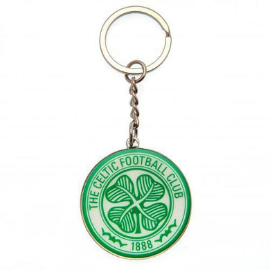 Celtic FC Metal Crest Keyring (Official Licensed Product)