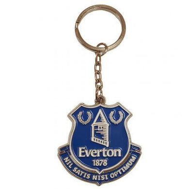 Everton FC Metal Crest Keyring (Official Licensed Product).