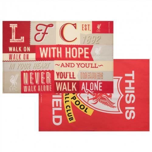 Liverpool FC Cotton Tea Towel Set (Official Licensed Product).
