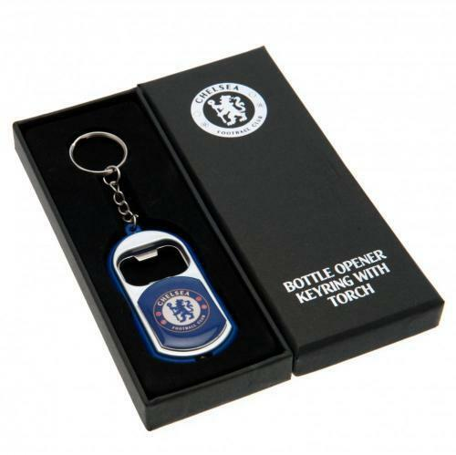 Chelsea F.C Key Ring Torch Bottle Opener (Official Licensed Product).