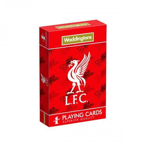Liverpool FC Playing Cards (Official Licensed Product).