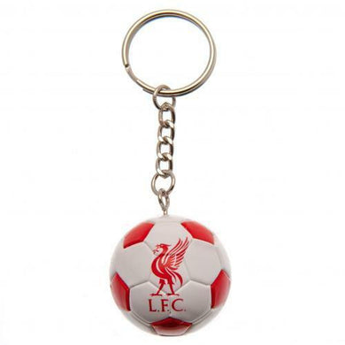 Liverpool FC Football Keyring (Official Licensed Product).