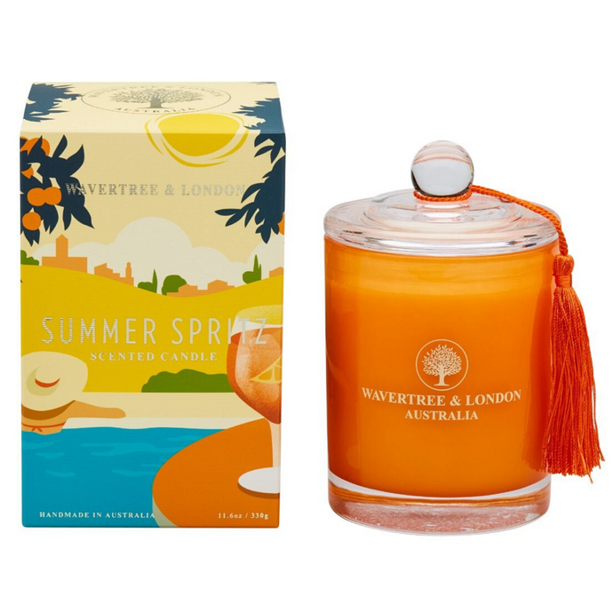 Summer Spritz Candle by Wavertree & London