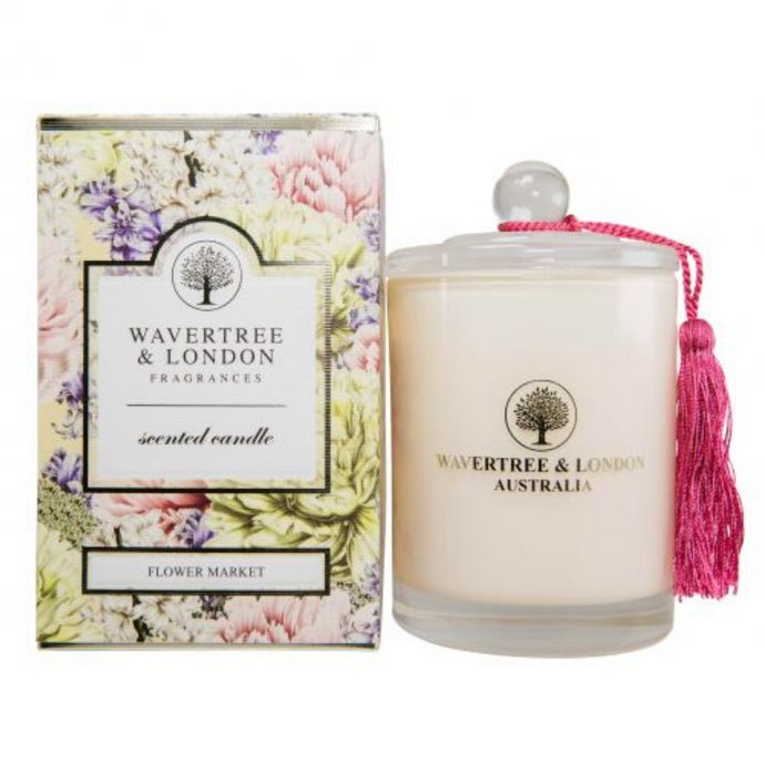 Flower Market Candle by Wavertree & London