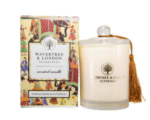 Sandalwood & Patchouli Candle By Wavertree  & London