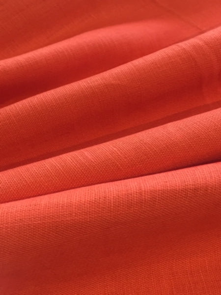 Bright Coral Firm linen