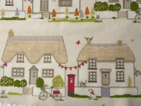 Country Cottage PVC Coated Cotton