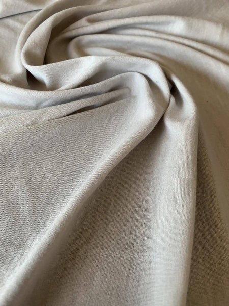 Silver Viscose Knit - Deadstock fabric on AmoThreads