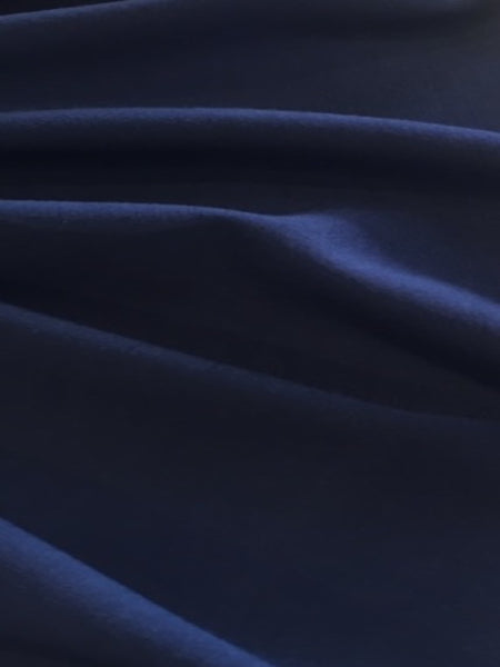 French Navy Viscose Knit
