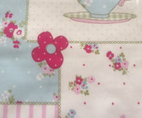 Time for Tea PVC Coated Cotton