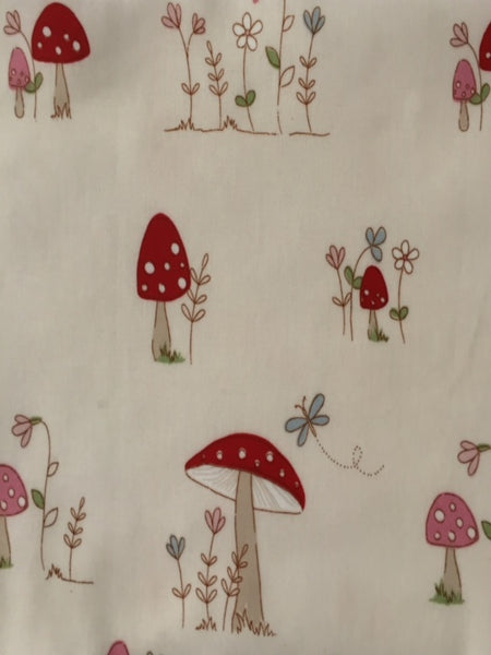 Toadstool PVC Coated Cotton
