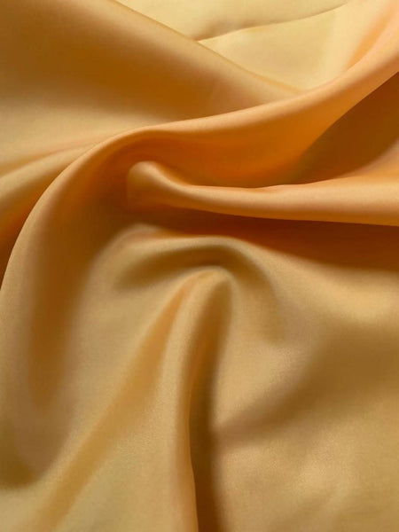 Gold anti static Taffeta lining - Deadstock fabric on AmoThreads