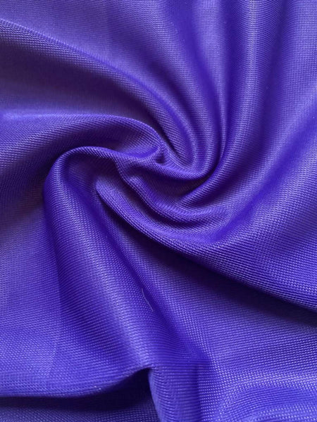 Royal/Purple knitted lining - Deadstock fabric on AmoThreads