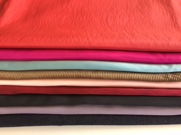 Woven fabric bunches - minimum of 10m