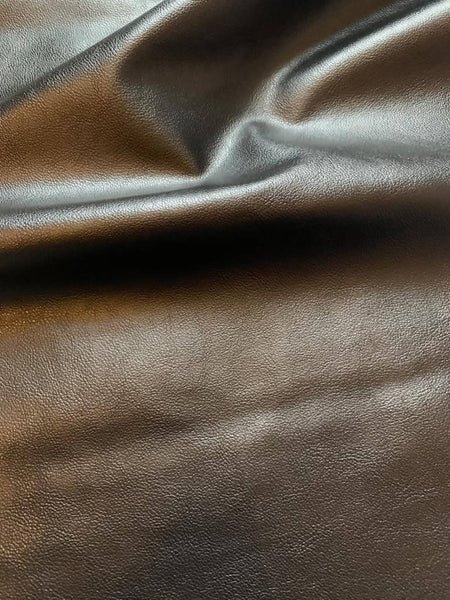 Black Faux Leather - Deadstock fabric on AmoThreads