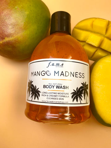 NEW! MANGO MADNESS All Natural Body Wash
