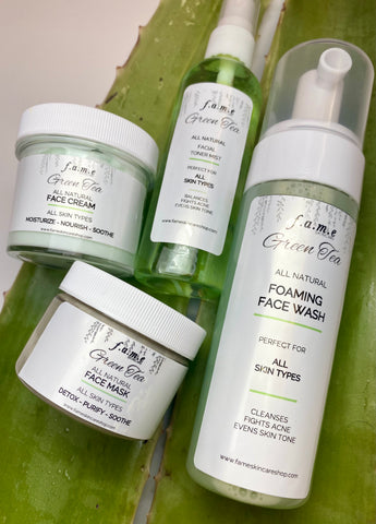 LUXE Green Tea Facial Set