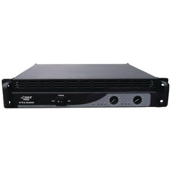DJ Equipment:Pyle Pro Professional Power Amp (3,000 Watt With Built-In Crossover)