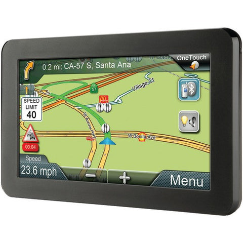 GPS System:Gps Device With Bluetooth & Free Lifetime Maps & Traffic Updates Magellan Roadmate 7""