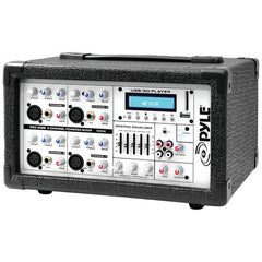 DJ Equipment:4 Channel 400 Watt Powered Pyle Pro Mixer