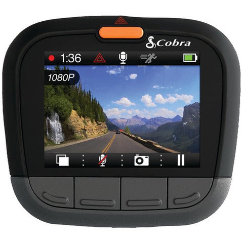 "Dash Cam:Hd 1080P With 2"" Screen Cobra Electronics Cdr 835"