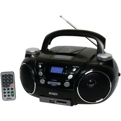 Boom Box:Jensen Portable Am And Fm Stereo Cd Player With Mp3 Encoder And Player