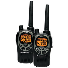 2Way Radio:Midland 36-Mile Gmrs Radio Pair Pack With Drop-In Charger & Rechargeable Batteries